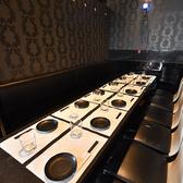 20名様のご宴会にも対応可能な個室です