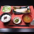 料理メニュー写真焼サバ定食
