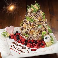 【記念日】メッセージ付き誕生日ケーキでサプライズを♪