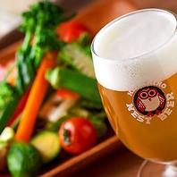 料理にあったクラフトビールをご案内