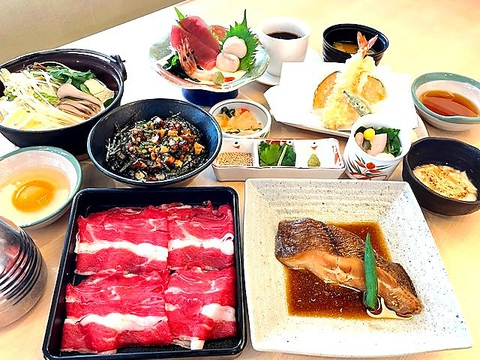 【予約限定】宴(国産牛すき焼き付き)