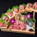 料理メニュー写真黒毛和牛の競演