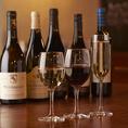 ワインの種類は豊富です!季節に合わせたワインもあり★