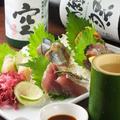 料理メニュー写真《貝と魚》おまかせ刺 五点盛