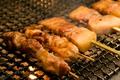 料理メニュー写真豚串/鶏串/砂肝串
