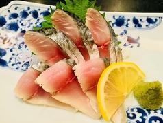 料理メニュー写真〆鯖の刺身
