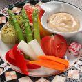 料理メニュー写真彩どり野菜のバーニャカウダ