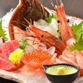 料理メニュー写真淡路島のお刺身3点盛り