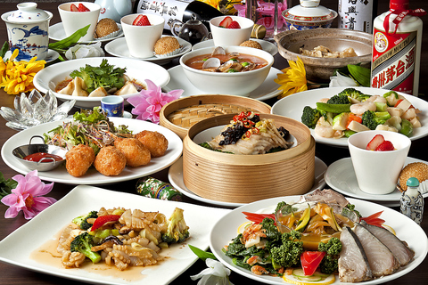 地産地消にこだわり地物の食材で織りなす博多中華が堪能できる、本格上海料理!