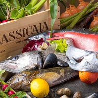 ドーニ名物ざる見せ浜直鮮魚を丸ごとお持ちします。