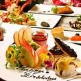 各種コースをご用意しております。誕生日、記念日など大切なディナーに是非ご利用ください♪♪