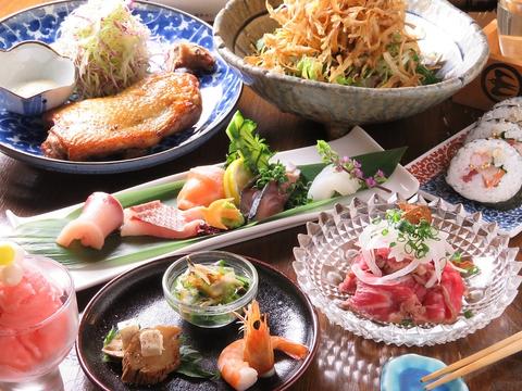 八坂町にOPEN以来大好評!その時期旬の香川野菜・瀬戸の海鮮料理が楽しめるお店