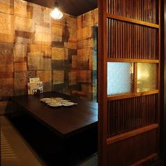 【合コン・女子会・宴会に】完全個室(4名~6名様用)周りが気にならない個室は合コン・女子会・宴会にぴったり。