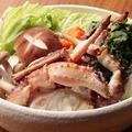 料理メニュー写真かにすき鍋(一人前)