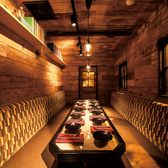 10名様用のトレーラー個室★アメリカン×木のナチュラル感がフォトジェニック♪誕生日回・女子会・会社の飲み会にぴったりの完全個室です♪