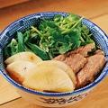 料理メニュー写真牛肉麺(ニューローメン)