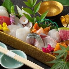 鮮魚の箱盛り