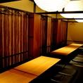 最大40名様収容の、 大型宴会にも利用できる貸切個室もご用意しております。