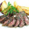 料理メニュー写真サーロインステーキのタリアータ(200g)