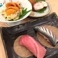 仕入れにこだわった魚介類は、その日その日で内容が変わります。お寿司や刺身などにこだわりがある方にも、必ずご満足いただけると思います!
