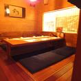 ゆったり寛げる和空間で各種ご宴会を!大小様々な個室をご用意しております。。※写真は系列店