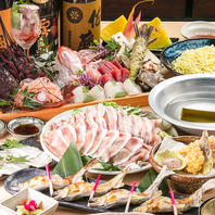 旨みの濃厚な鹿児島県産黒宝豚しゃぶしゃぶ鍋!