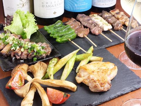 【宴会大歓迎】大山どりの本格炭火焼と美味しい有機野菜が楽しめる隠れ家一軒家