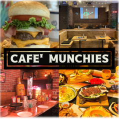 CAFE' MUNCHIES カフェ マンチーズの写真