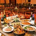 料理メニュー写真本格イタリアン飲み放題付き貸切コースは4,170円から