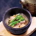 料理メニュー写真牛ホルモン石釜焼き