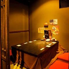こたつ付きの個室を完備♪まるでお家にいるかのような寛ぎ空間で、ゆったりお食事をお楽しみ頂けます!