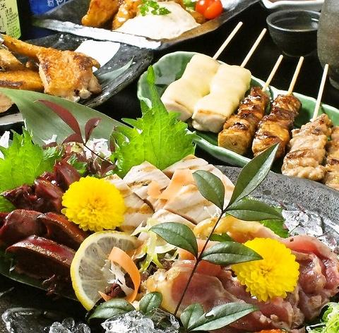 今宿の人気店『炭火やきとり しゃも』の2号店!播州百日鶏を使用したこだわりのお料理
