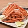 料理メニュー写真山盛り紅ズワイ蟹(3~4名様分)