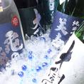 信州地酒は各コースに+500円(税抜)で飲み放題付に変更!地酒単品飲み放題は1750円(税抜)!