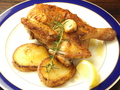 料理メニュー写真大山鶏のロースト