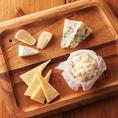 【茶屋町 チーズ】数種類のチーズを多彩にアレンジしてお届けします。お好きな食べ方をお選びいただき、ラパウザのオリジナルチーズ料理を心ゆくまでお楽しみください。