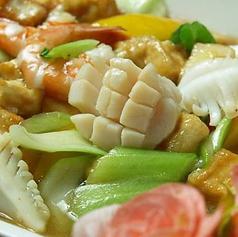 料理メニュー写真海鮮野菜炒め