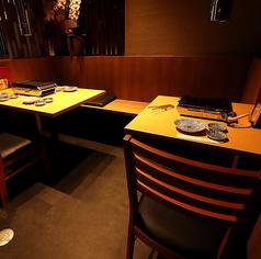 JR八王子駅より徒歩5分♪落ち着いた広々とした店内で焼肉宴会をお楽しみ下さい。会社宴会、歓送迎会、女子会、など大人数での会合もOK!