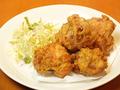 料理メニュー写真ポテトフライ/チーズ包み揚げ/ハムカツ/若鶏の唐揚げ