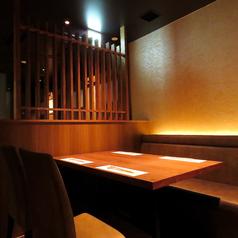 【テーブル】4席×2卓 全8席