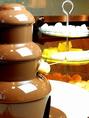 30名様以上貸切でチョコレートファウンテンが楽しめる!