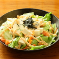 料理メニュー写真とうふサラダ~明太ソース~