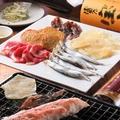 料理メニュー写真炙り5種盛り(4.5人前)