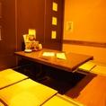 ファミリーでも利用可能なお座敷個室席。