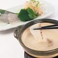料理メニュー写真【八十八鯛】玉葱フォンデュ/【比叡山】本さしみ湯葉玉葱フォンデュ