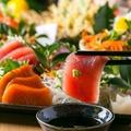 料理メニュー写真宮崎県産 刺身の3点盛り合わせ