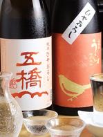 種類豊富な焼酎◆日本酒
