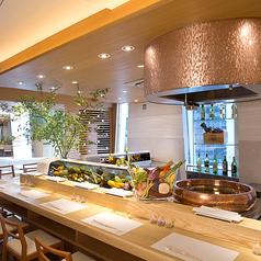 カウンターお野菜天ぷら mego めごの雰囲気1