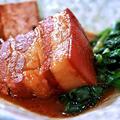 料理メニュー写真絶品♪ 味噌ラフテー (沖縄角煮の味噌味)