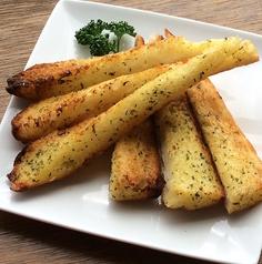 料理メニュー写真ガーリックトースト-GarlicToast-